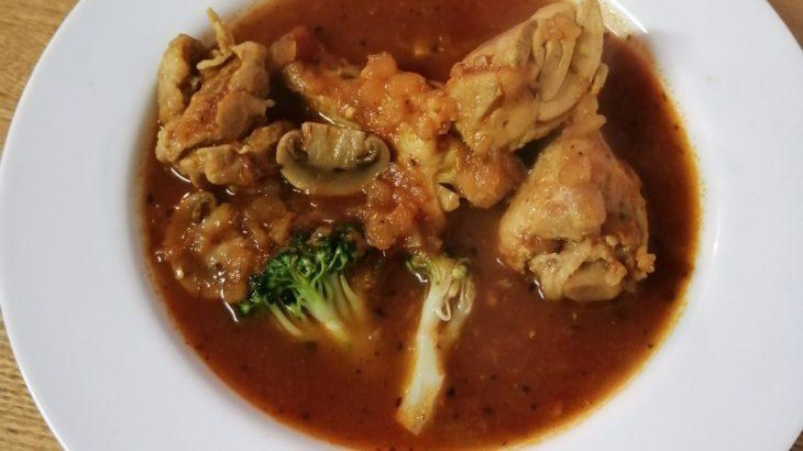 鶏肉たっぷりスープカレー