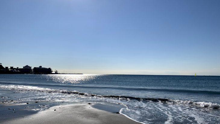 鎌倉散歩 2020年12月8日 材木座海岸散歩 縁むすびカードが届いた