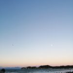 鎌倉散歩 2021年1月1日 日の出